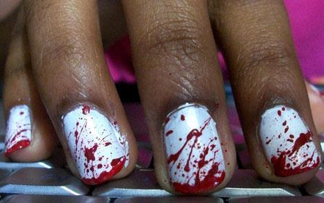 nail, kinh di, mong tay, halloween, le hoi halloween, (17)