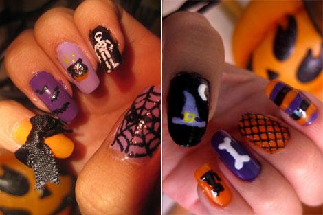 nail, kinh di, mong tay, halloween, le hoi halloween, (7)