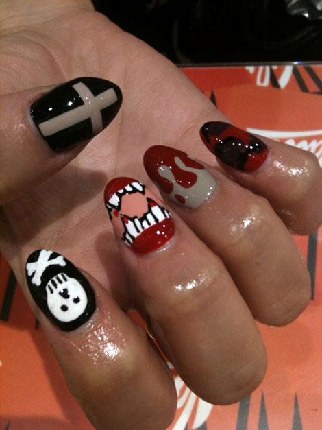 nail, kinh di, mong tay, halloween, le hoi halloween, (6)