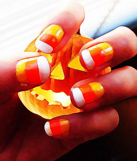 nail, kinh di, mong tay, halloween, le hoi halloween, (3)