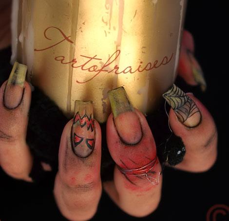 nail, kinh di, mong tay, halloween, le hoi halloween, (2)