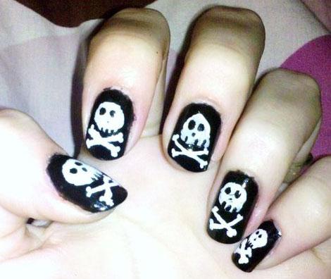 nail, kinh di, mong tay, halloween, le hoi halloween, (13)