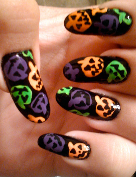 nail, kinh di, mong tay, halloween, le hoi halloween, (11)