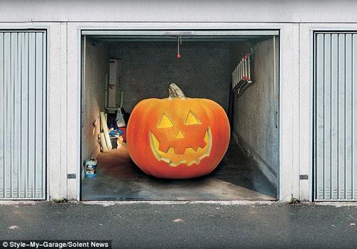 Những bức ảnh dán cửa 3D rùng rợn | Rung ron | kinh di | halloween (13)