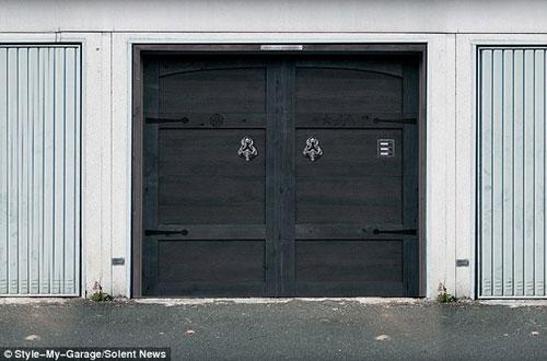 Những bức ảnh dán cửa 3D rùng rợn | Rung ron | kinh di | halloween (2)