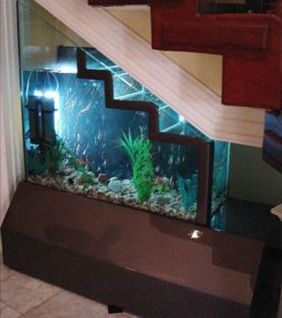 15 ý tưởng tận dụng không gian gầm cầu thang | sang tao | tan dung khong gian song (7)