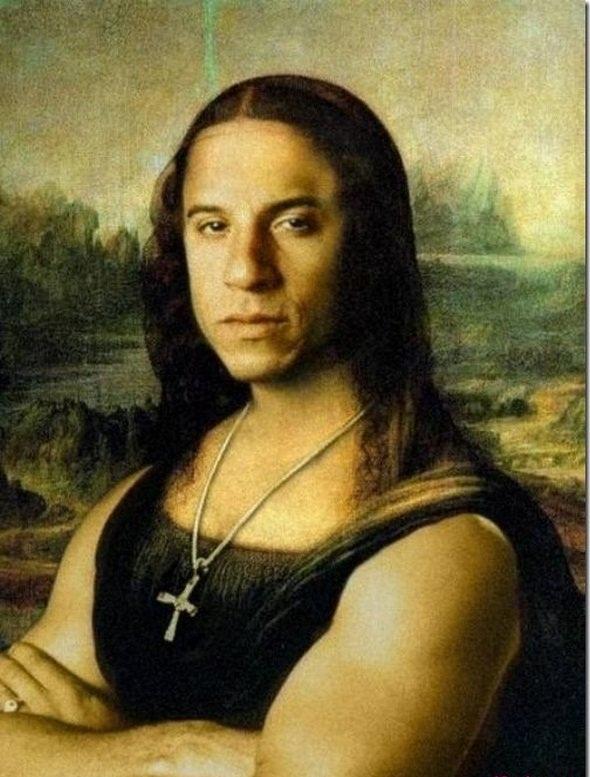 """Những """"biến thể"""" vô cùng hài hước của bức họa Mona Lisa"""