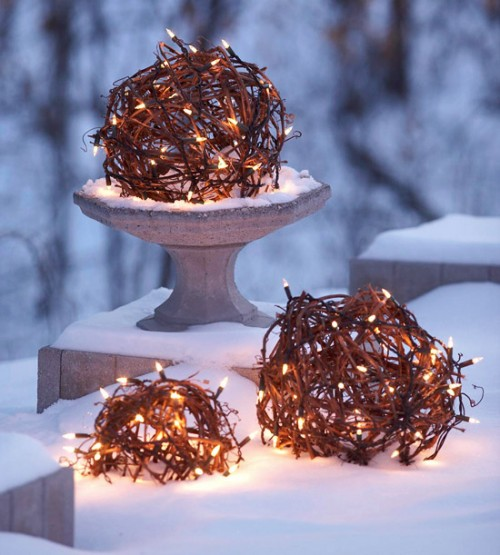 15 cách trang trí đèn cho đêm Noel | trang tri den | den noel | den giang sinh | den trang tri tet (5)