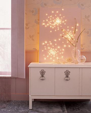 15 cách trang trí đèn cho đêm Noel | trang tri den | den noel | den giang sinh | den trang tri tet (3)