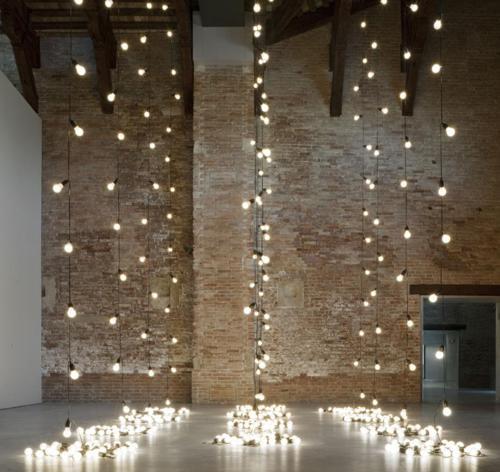 15 cách trang trí đèn cho đêm Noel | trang tri den | den noel | den giang sinh | den trang tri tet (12)
