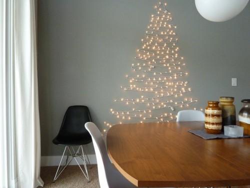 15 cách trang trí đèn cho đêm Noel | trang tri den | den noel | den giang sinh | den trang tri tet (11)
