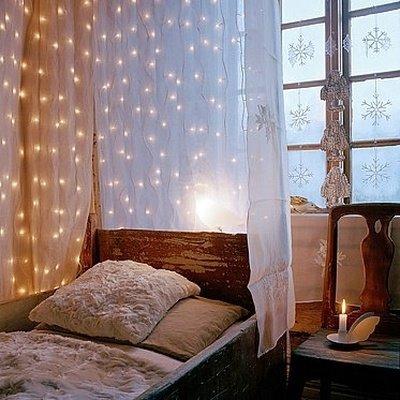 15 cách trang trí đèn cho đêm Noel | trang tri den | den noel | den giang sinh | den trang tri tet (10)