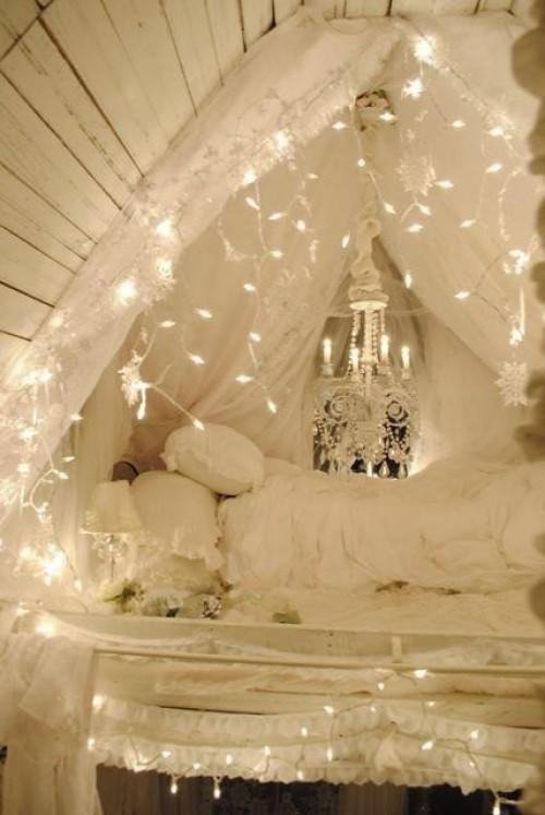 15 cách trang trí đèn cho đêm Noel | trang tri den | den noel | den giang sinh | den trang tri tet (6)