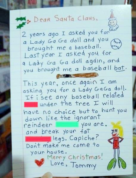 Thư trẻ em gửi ông già Noel (11)