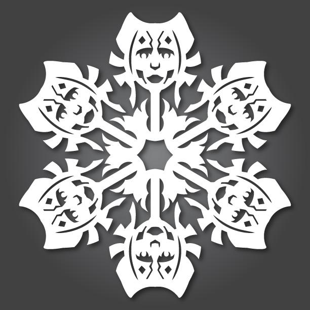 """""""Chế"""" bông tuyết theo phong cách Star Wars (6)"""