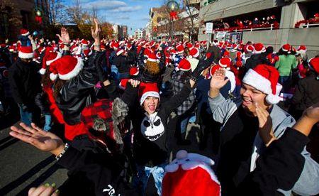 kỷ lục nhiều người đội mũ ông già Noel nhất tại cùng một địa điểm