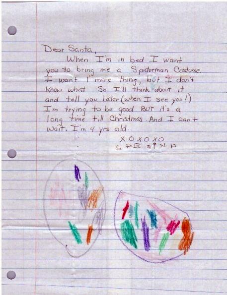 Thư trẻ em gửi ông già Noel (10)