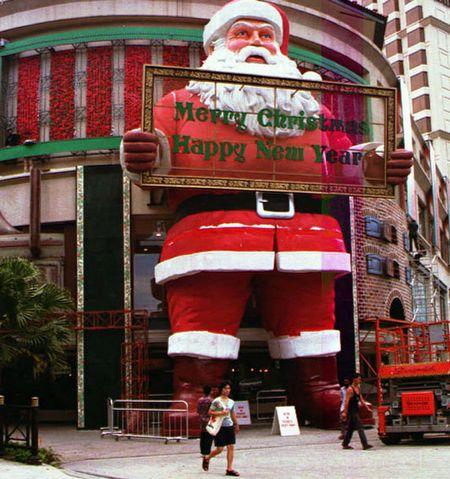 Ông già Noel lớn nhất thế giới
