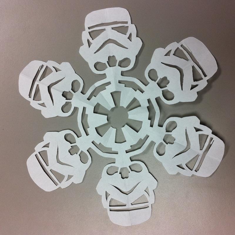 """""""Chế"""" bông tuyết theo phong cách Star Wars (11)"""