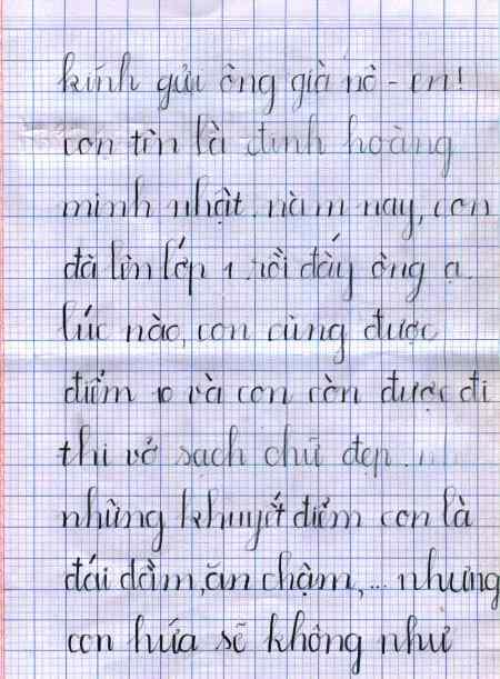 Thư trẻ em gửi ông già Noel (5)