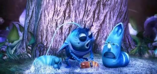 Hoạt hình Larva - phiên bản Avatar
