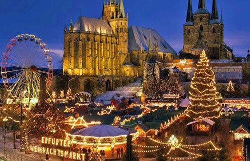 Lộng lẫy chợ giáng sinh trên khắp thế giới