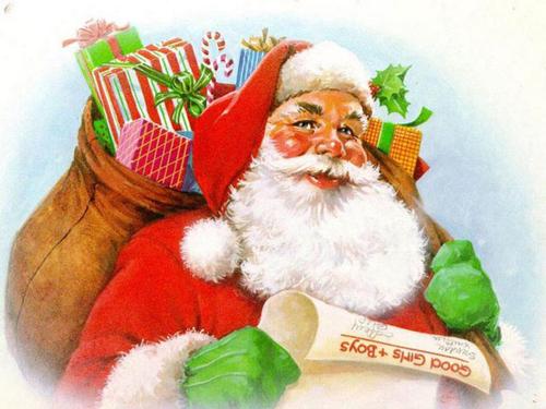 Hình ảnh ông già Noel quen thuộc