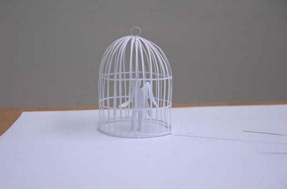 Những tác phẩm ma thuật từ giấy A4 | Độc đáo | sáng tạo | 3D (18)