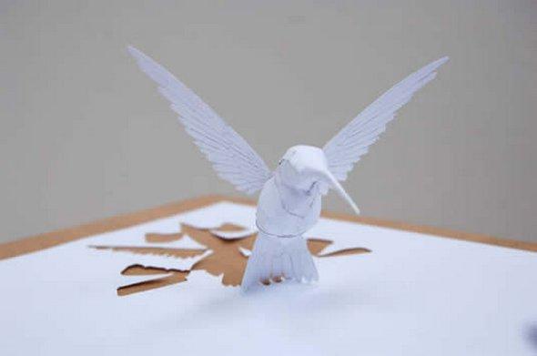 Những tác phẩm ma thuật từ giấy A4 | Độc đáo | sáng tạo | 3D (17)