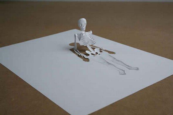 Những tác phẩm ma thuật từ giấy A4 | Độc đáo | sáng tạo | 3D (16)