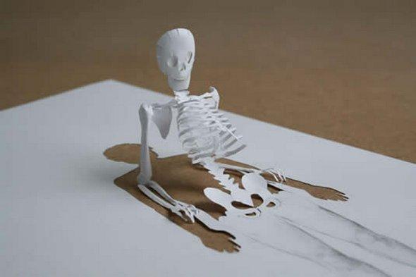 Những tác phẩm ma thuật từ giấy A4 | Độc đáo | sáng tạo | 3D (15)