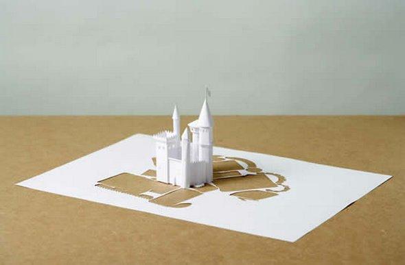 Những tác phẩm ma thuật từ giấy A4 | Độc đáo | sáng tạo | 3D (14)