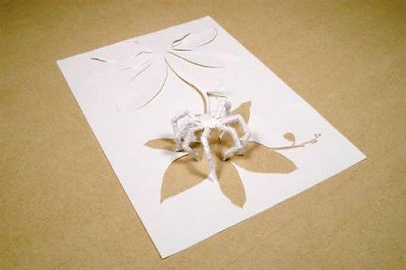 Những tác phẩm ma thuật từ giấy A4 | Độc đáo | sáng tạo | 3D (12)