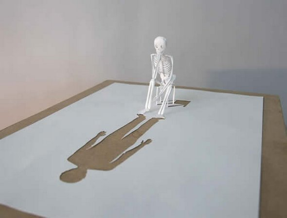 Những tác phẩm ma thuật từ giấy A4 | Độc đáo | sáng tạo | 3D (11)