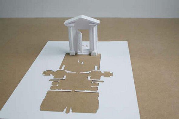 Những tác phẩm ma thuật từ giấy A4 | Độc đáo | sáng tạo | 3D (10)