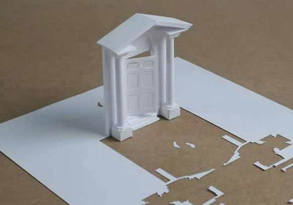 Những tác phẩm ma thuật từ giấy A4 | Độc đáo | sáng tạo | 3D (9)