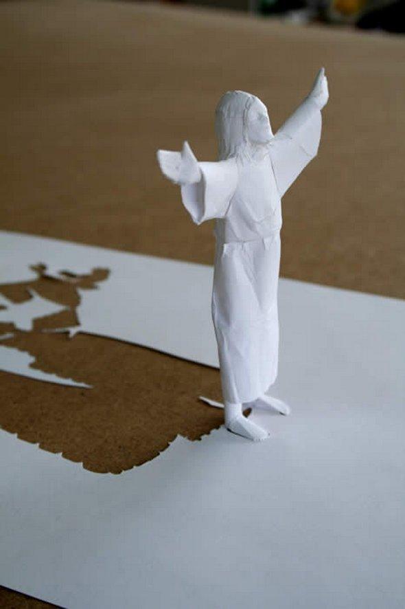 Những tác phẩm ma thuật từ giấy A4 | Độc đáo | sáng tạo | 3D (8)