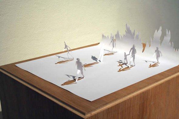 Những tác phẩm ma thuật từ giấy A4 | Độc đáo | sáng tạo | 3D (6)