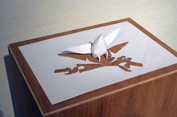 Những tác phẩm ma thuật từ giấy A4 | Độc đáo | sáng tạo | 3D (5)