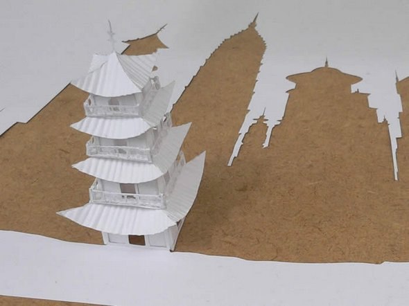 Những tác phẩm ma thuật từ giấy A4 | Độc đáo | sáng tạo | 3D (4)