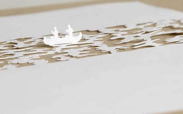 Những tác phẩm ma thuật từ giấy A4 | Độc đáo | sáng tạo | 3D (2)