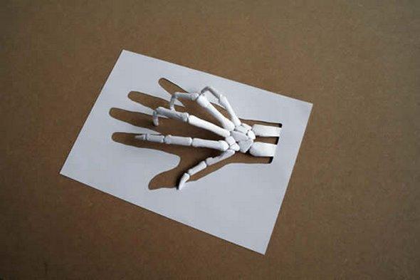Những tác phẩm ma thuật từ giấy A4 | Độc đáo | sáng tạo | 3D (1)