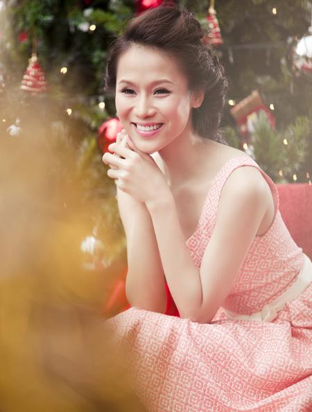 Thái Hà rộn ràng đón Giáng sinh   thai ha, anh nguoi dep, nguoi dep, sieu mau phong cach, diu dang, nu tinh, noel, giang sinh (2)