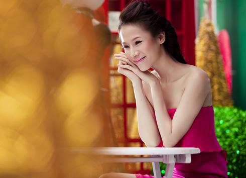 Thái Hà rộn ràng đón Giáng sinh   thai ha, anh nguoi dep, nguoi dep, sieu mau phong cach, diu dang, nu tinh, noel, giang sinh (14)