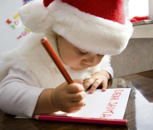 Thư trẻ em gửi ông già Noel (1)