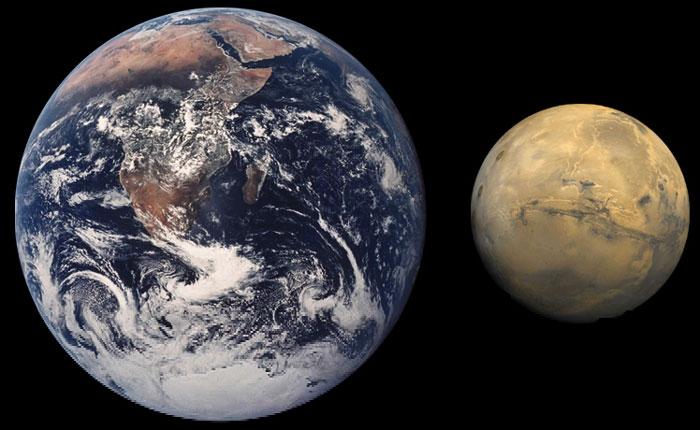 Trái đất và sao hỏa
