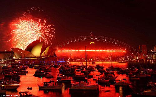 Thế giới tưng bừng pháo hoa đón chào năm mới 5