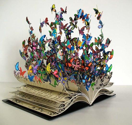 Cuốn sách cánh bướm độc đáo (2)