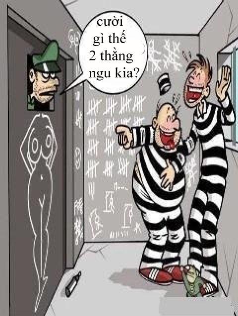 Trò đùa của hai tên tù nhân