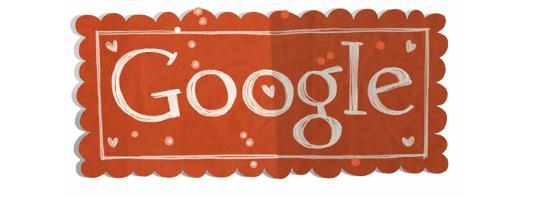 Logo Google 14-02-2012: Happy Valentine's Day 2012